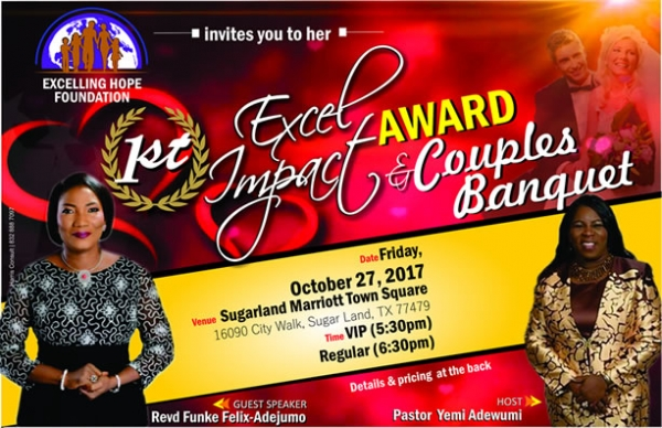 1st Excel Impact Award & Couples Banquet